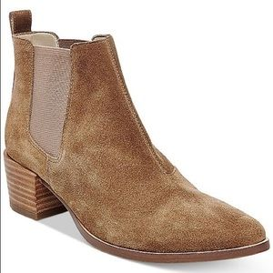 ISO! Steve Madden Vanity Suede Chelsea Ankle Boots